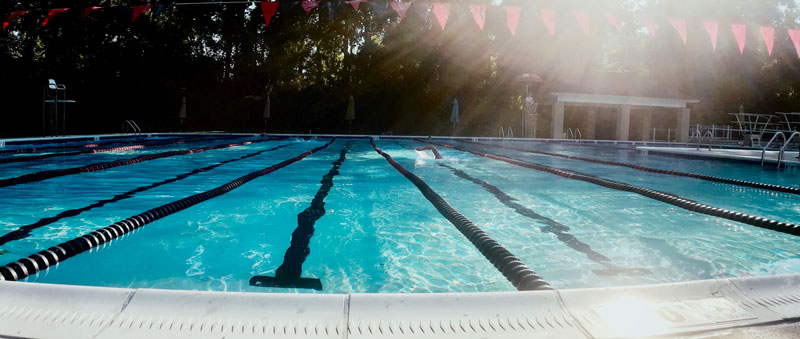early morning laps 062220